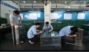 Image of our mold making team