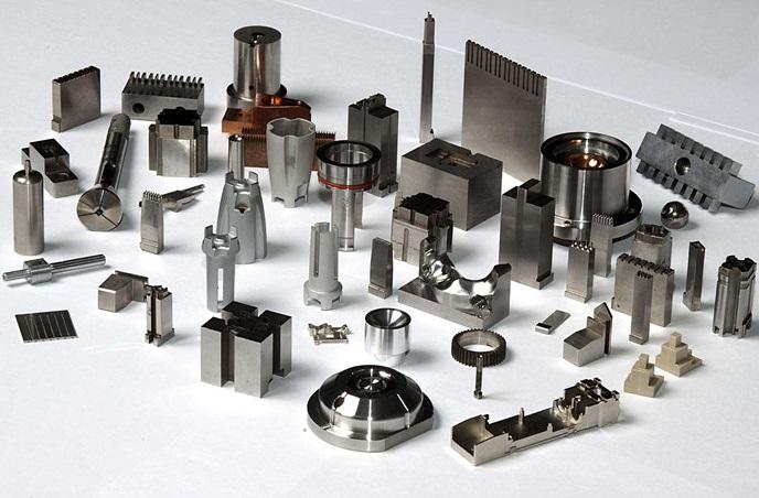 image of metal parts manufacturing