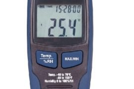 image of temperature meter